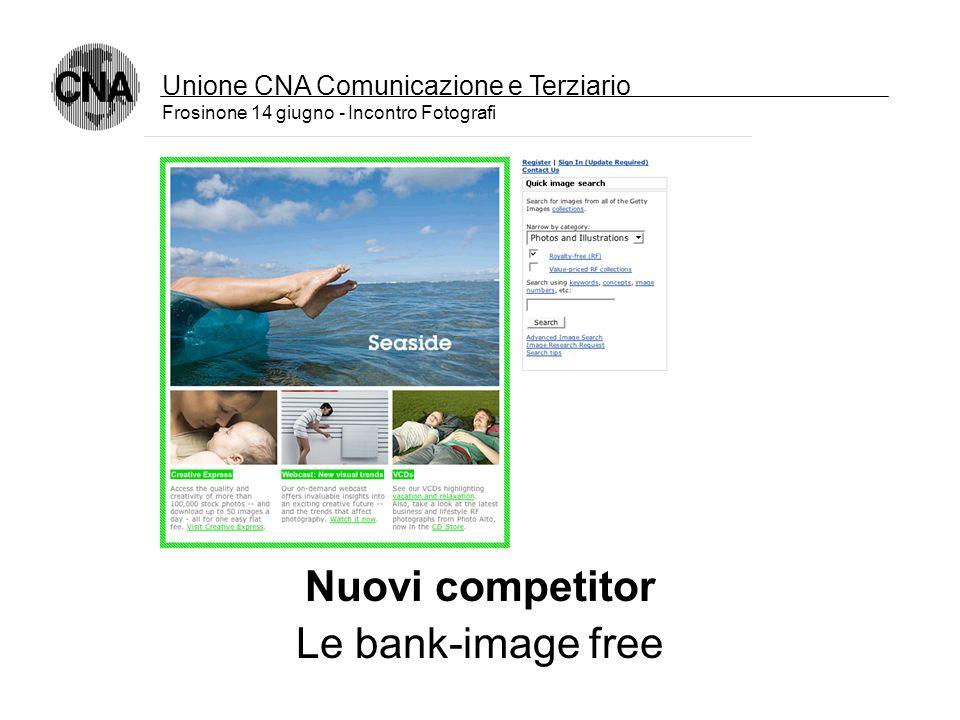 Unione CNA Comunicazione e Terziario Frosinone 14 giugno - Incontro Fotografi Nuovi competitor la concorrenza diventa globale