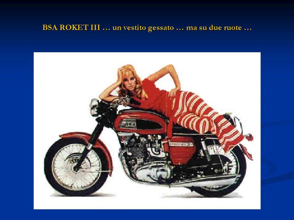 BSA ROKET III … un vestito gessato … ma su due ruote …