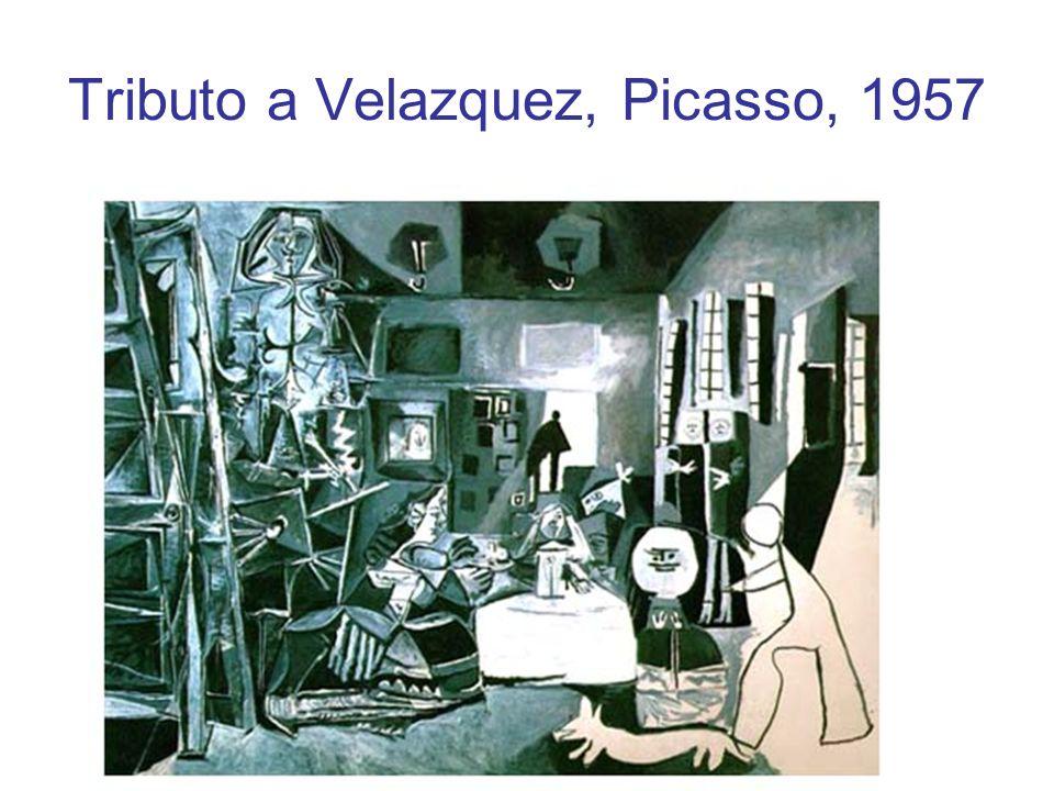 Tributo a Velazquez, Picasso, 1957