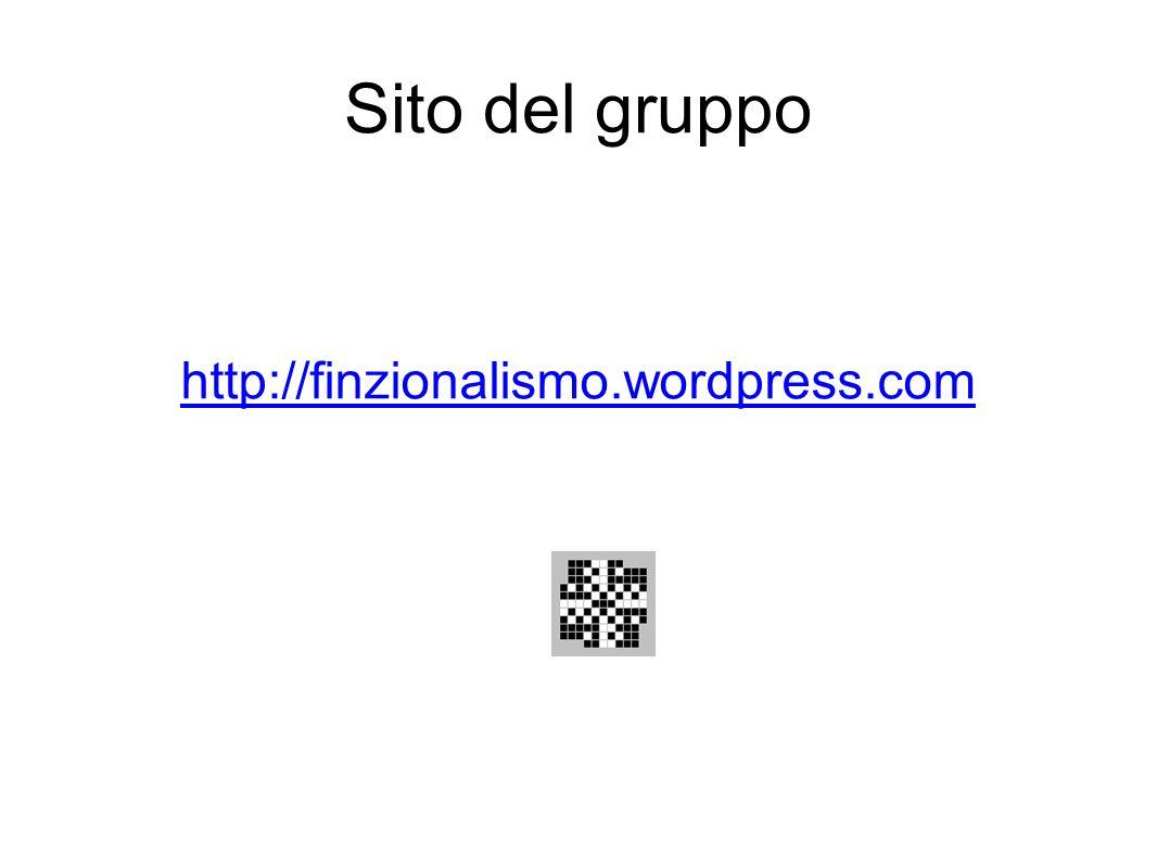 Sito del gruppo http://finzionalismo.wordpress.com