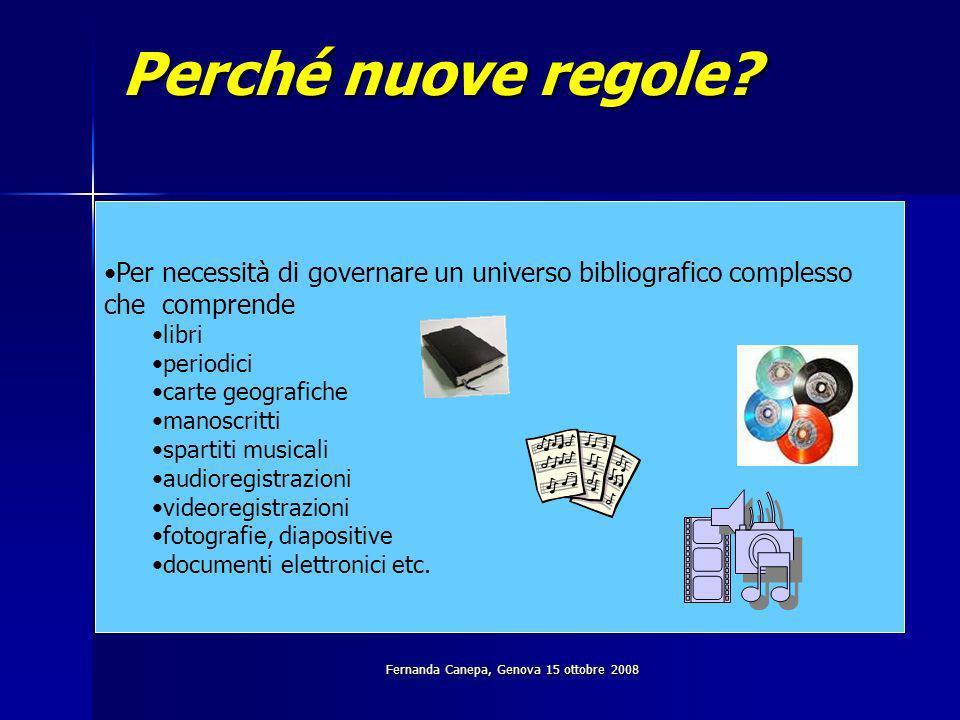 Dalle prime regole al nuovo codice: breve cronologia 1922: Biblioteche governative italiane.