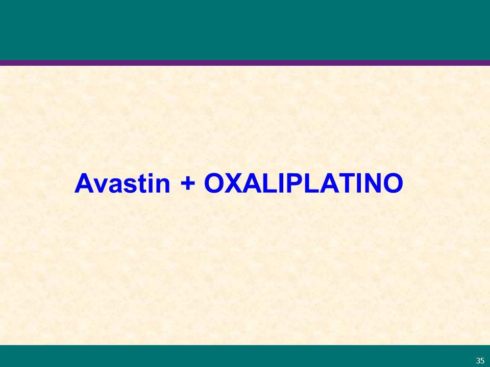 35 Avastin + OXALIPLATINO