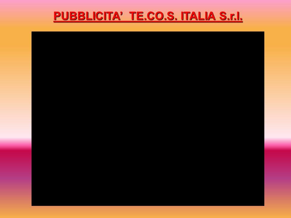 PUBBLICITA TE.CO.S. ITALIA S.r.l.
