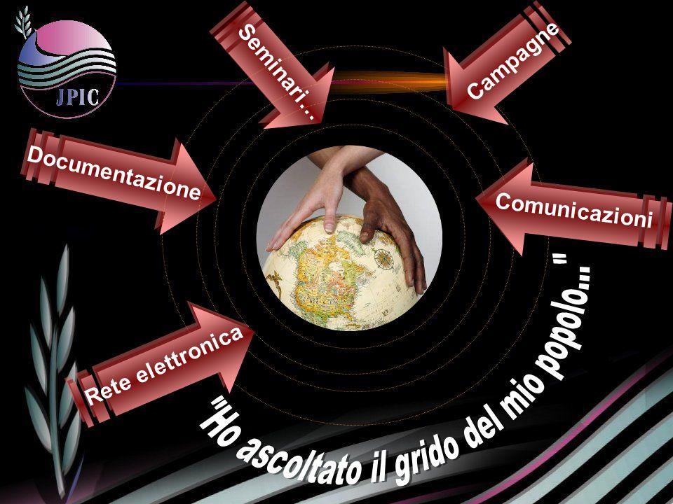 Seminari… Campagne Documentazione Rete elettronica Comunicazioni