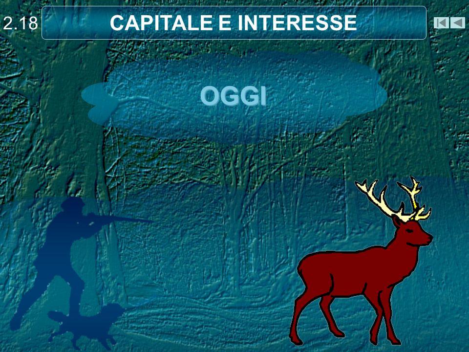OGGI 2.18 CAPITALE E INTERESSE