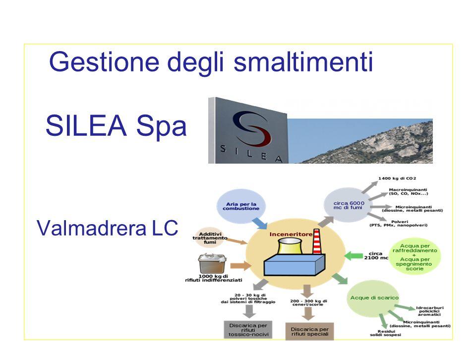 i consorzi di smaltimento in Brianza Gestione degli smaltimenti SILEA Spa Valmadrera LC
