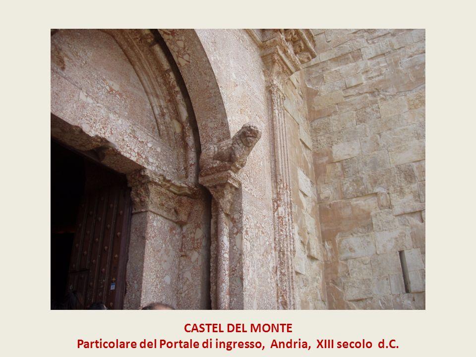 CASTEL DEL MONTE Particolare del Portale di ingresso, Andria, XIII secolo d.C.