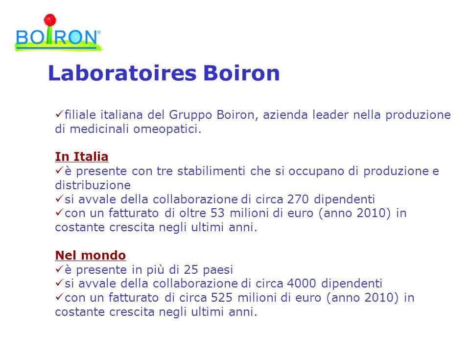 filiale italiana del Gruppo Boiron, azienda leader nella produzione di medicinali omeopatici. In Italia è presente con tre stabilimenti che si occupan