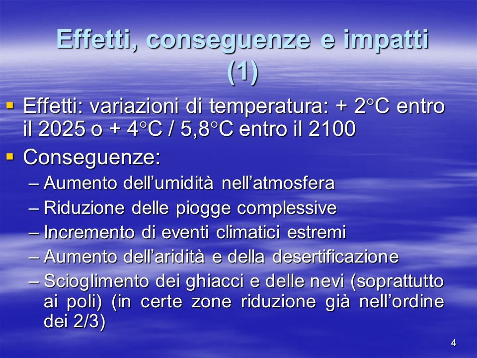 I Target di riduzione delle emissioni (3) Calcolo degli assigned amounts –In the first quantified emission limitation and reduction commitment period, from 2008 to 2012, the assigned amount for each Party included in Annex I shall be equal to the percentage inscribed for it in Annex B of its aggregate anthropogenic carbon dioxide equivalent emissions of the greenhouse gases listed in Annex A in 1990, or the base year or period determined in accordance with paragraph 5 above, multiplied by five (art.