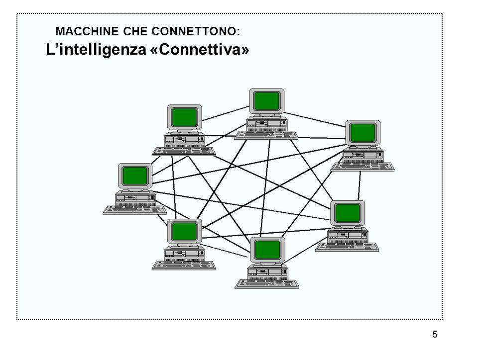 5 MACCHINE CHE CONNETTONO: Lintelligenza «Connettiva»