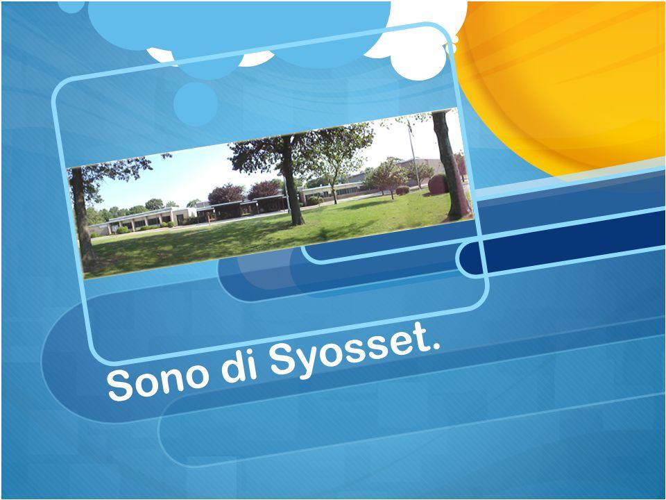Sono di Syosset.