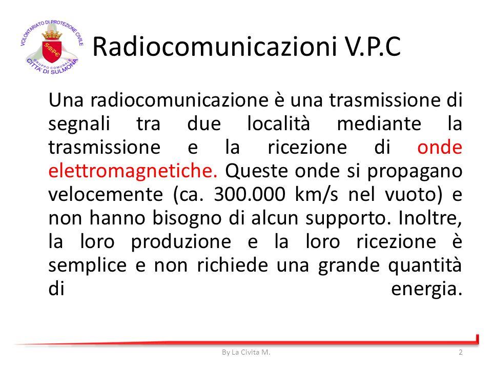 Una radiocomunicazione è una trasmissione di segnali tra due località mediante la trasmissione e la ricezione di onde elettromagnetiche. Queste onde s