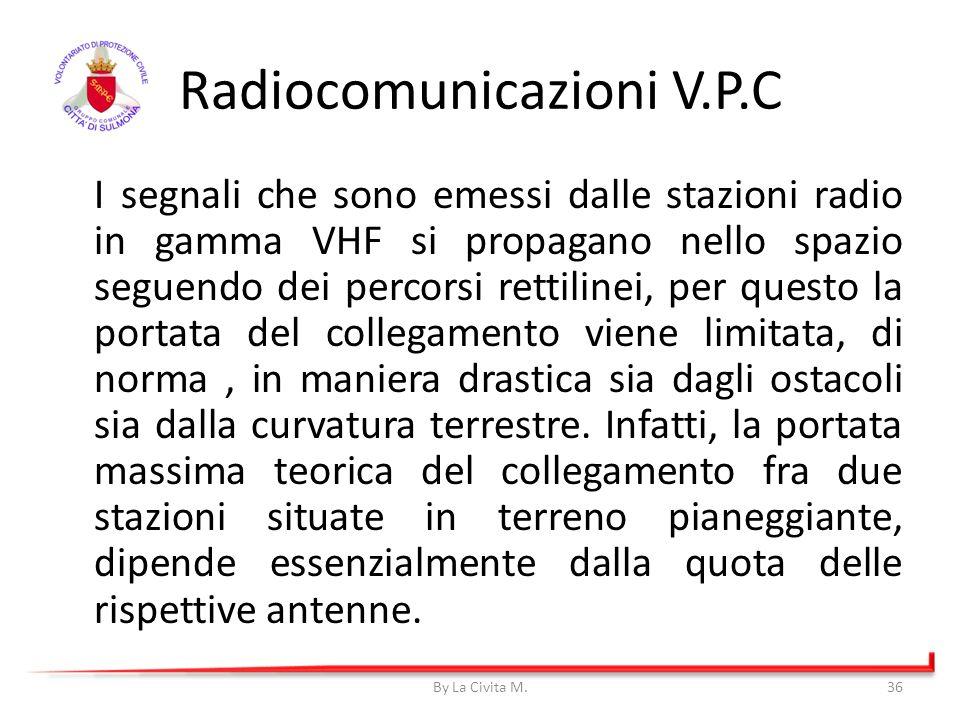 I segnali che sono emessi dalle stazioni radio in gamma VHF si propagano nello spazio seguendo dei percorsi rettilinei, per questo la portata del coll