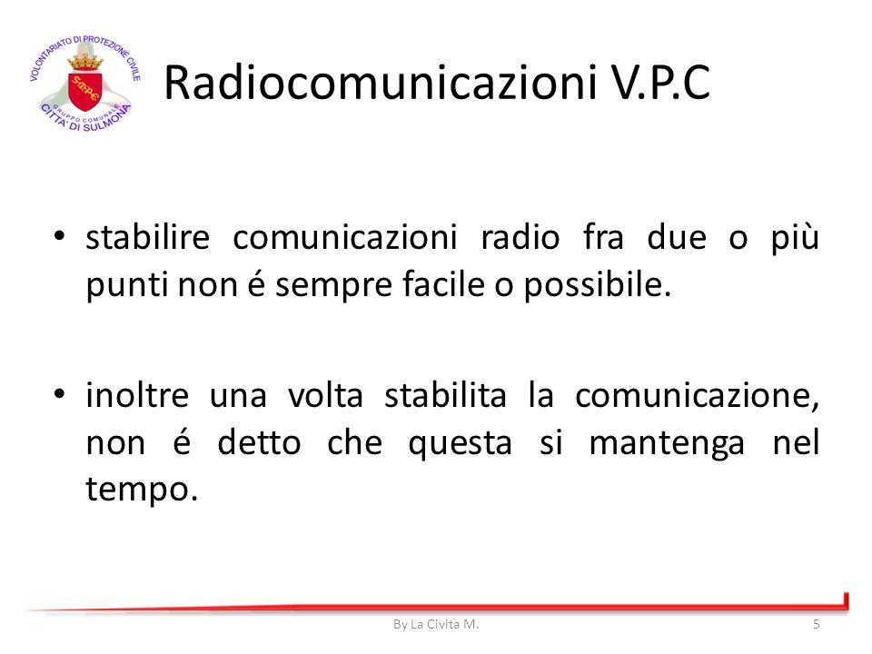 stabilire comunicazioni radio fra due o più punti non é sempre facile o possibile. inoltre una volta stabilita la comunicazione, non é detto che quest