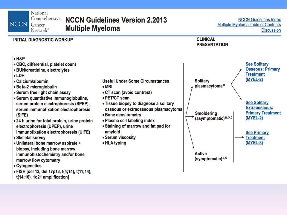 Linee guida Iniziale diagnostic workup