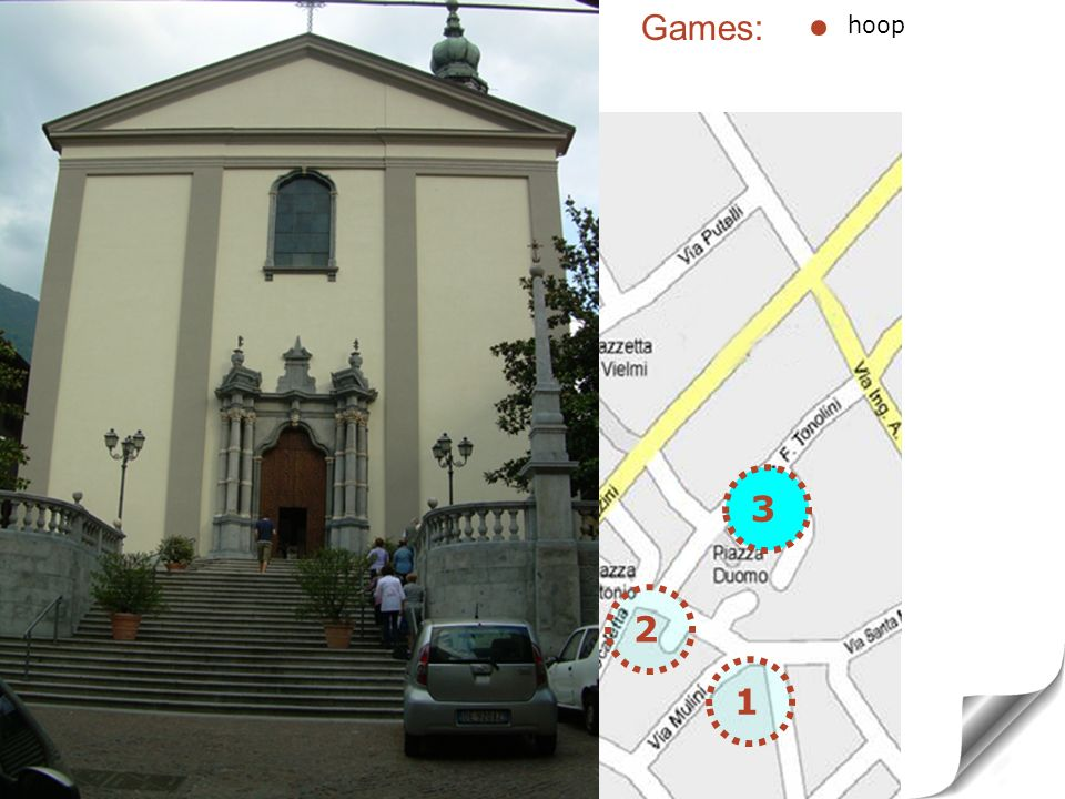 1 3 TOWER HOUSE AND PARISH Church Baroque style (1600) hoop 2 3 Games: