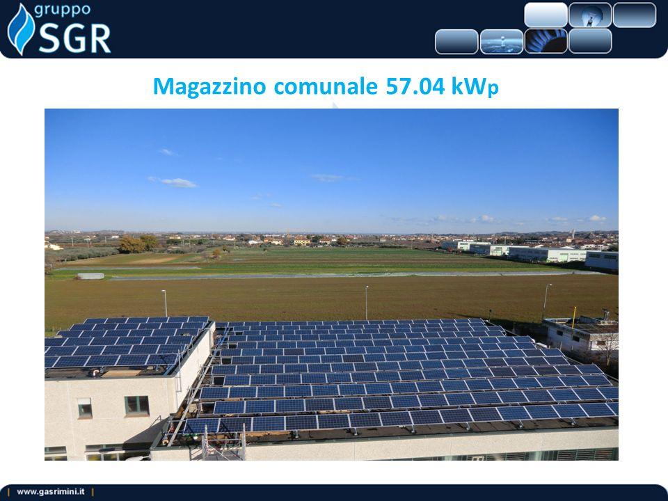 Magazzino comunale 57.04 kW p