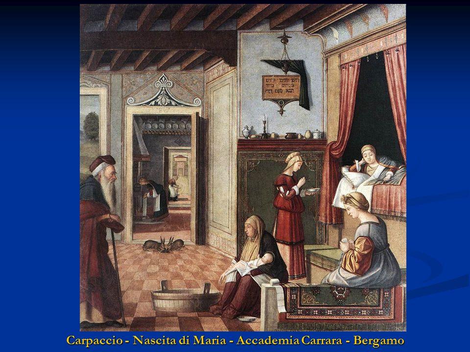 Carpaccio - Nascita di Maria - Accademia Carrara - Bergamo
