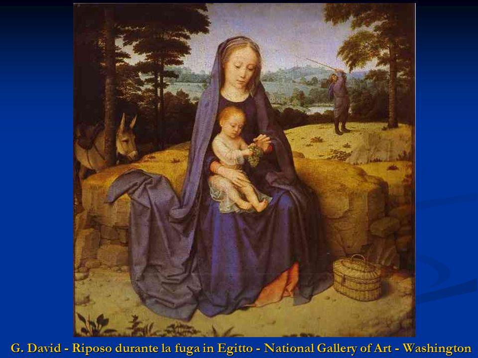 Caravaggio - Riposo durante la fuga in Egitto - Museo Dora Pampili - Roma