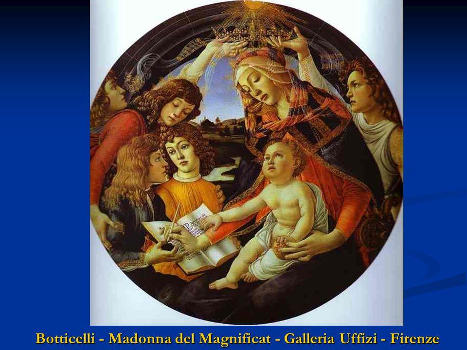 Botticelli - Madonna del Libro Museo Poldi Pezzoli - Milano Botticelli - Madonna con Bambino Galleria Nazionale Capodimonte NA