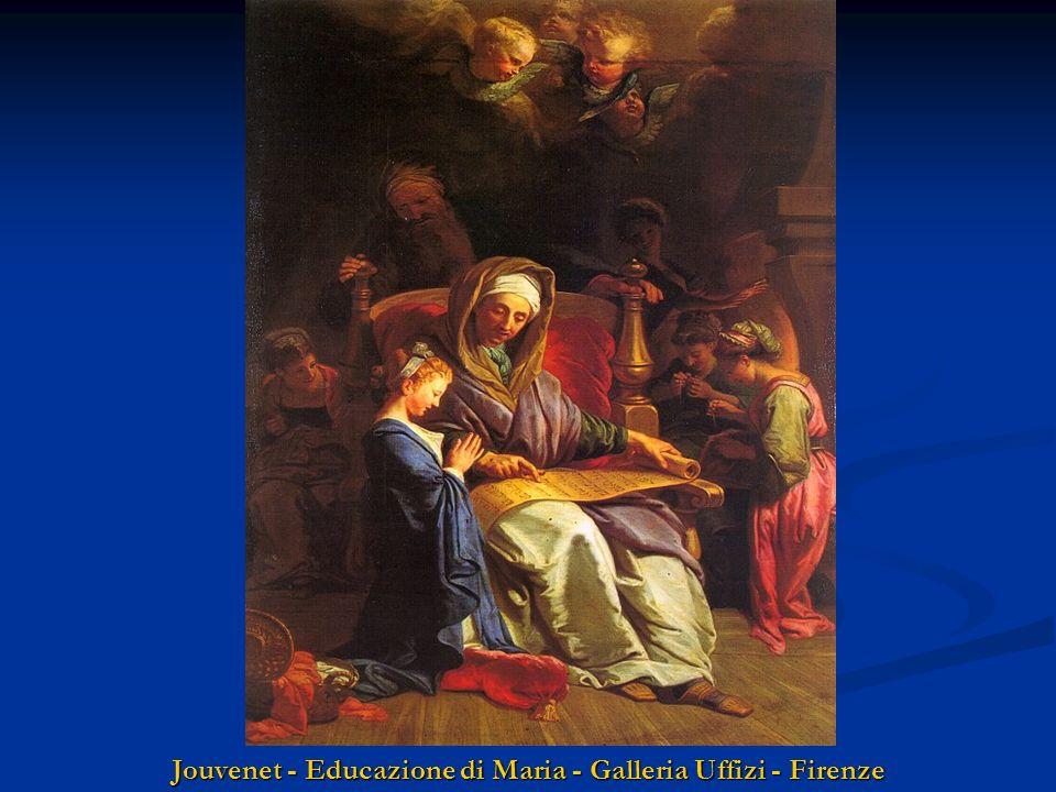 Jouvenet - Educazione di Maria - Galleria Uffizi - Firenze