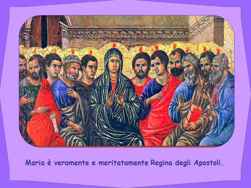 Anche Maria ha parlato.E ha dato Gesù. Nessuno mai al mondo fu apostolo più grande.