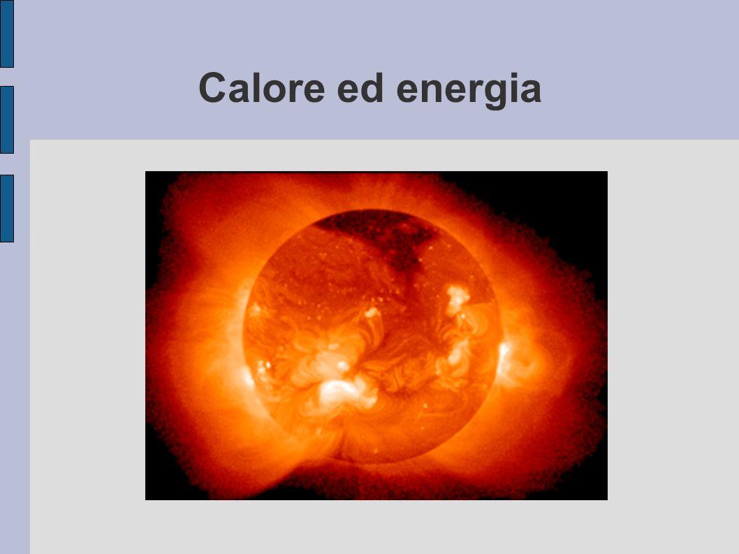 Calore ed energia