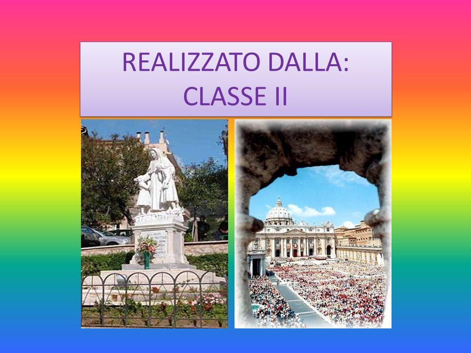 REALIZZATO DALLA: CLASSE II REALIZZATO DALLA: CLASSE II