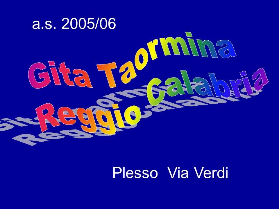 Plesso Via Verdi a.s. 2005/06