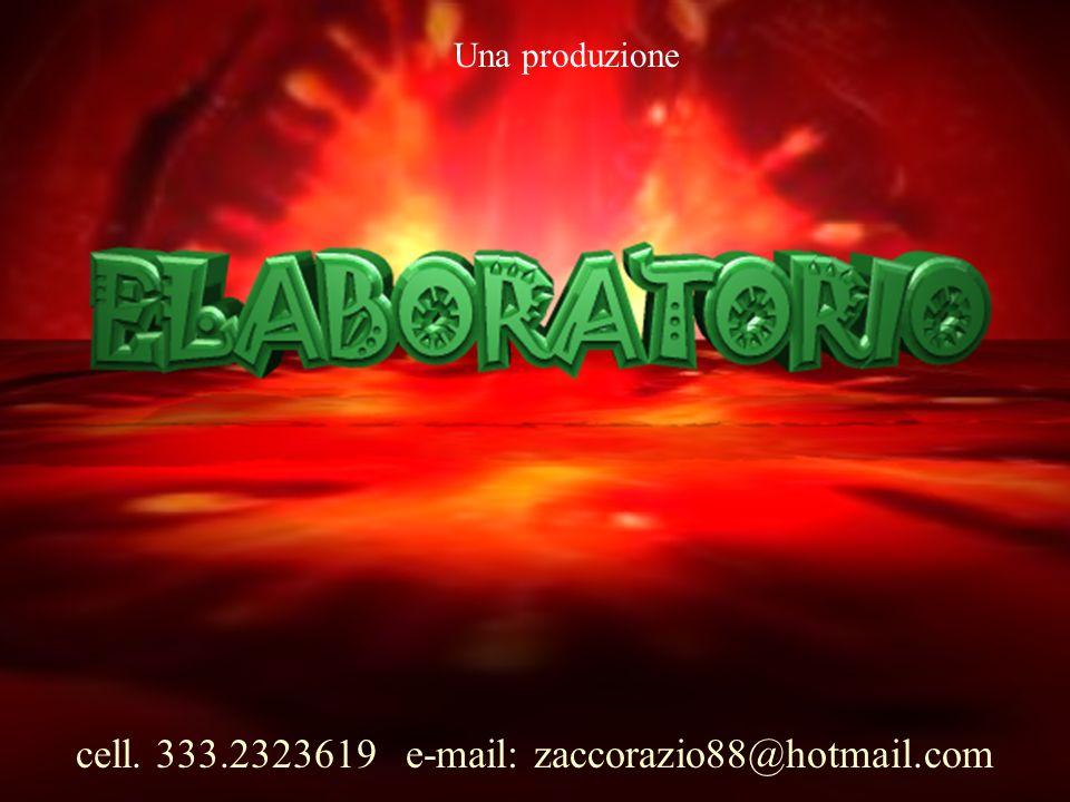 Associazione Culturale ELABORATORIO 16 Testi, allestimento, luci e regia di ORAZIO ZACCO assistenza alla regia di Silvana ZACCO