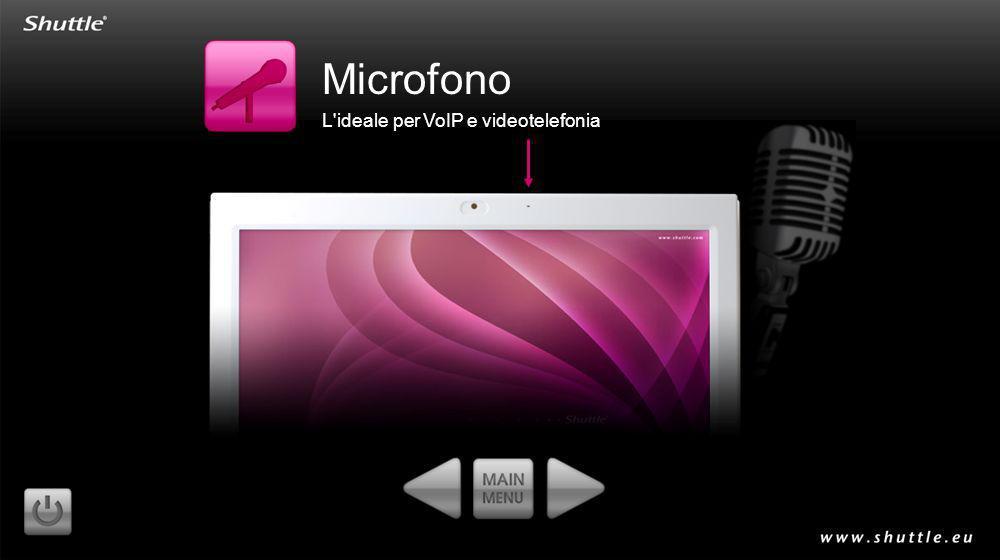 Microfono L'ideale per VoIP e videotelefonia