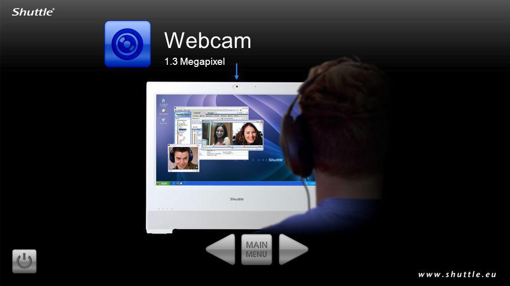 Webcam 1.3 Megapixel