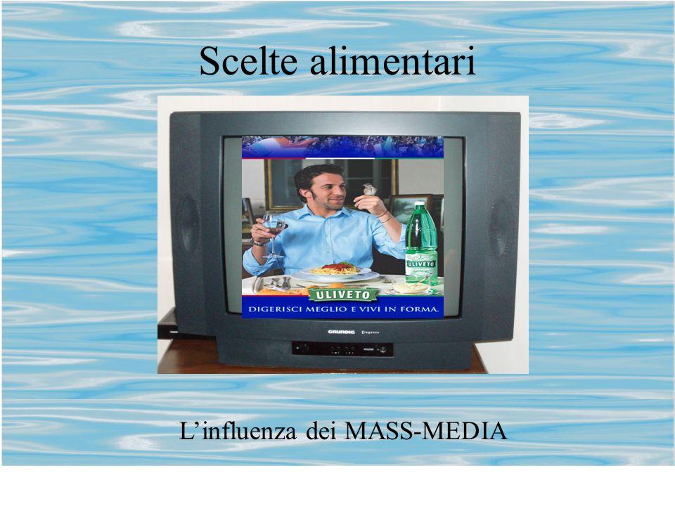 Scelte alimentari Linfluenza dei MASS-MEDIA