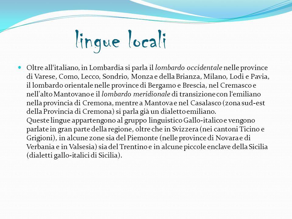 laghi Lago maggiore (glaciale) Lago d iseo (glaciale) Lago di garda (glaciale) Lago didro (glaciale) Lago di lugano (glaciale) Lago di como (glaciale)