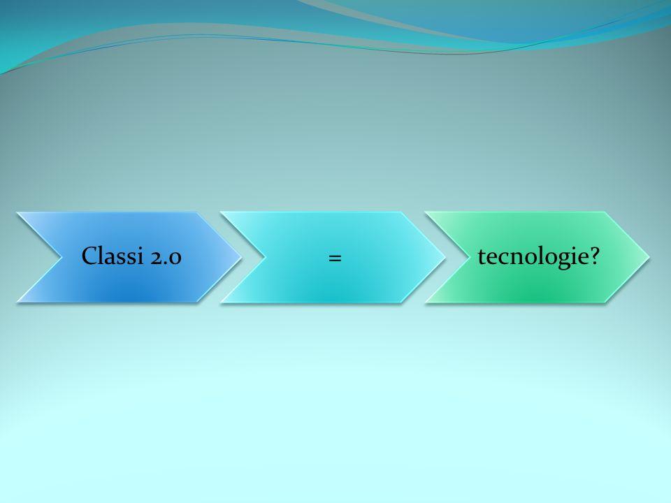 Classi 2.0=tecnologie
