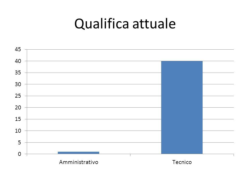 Qualifica attuale