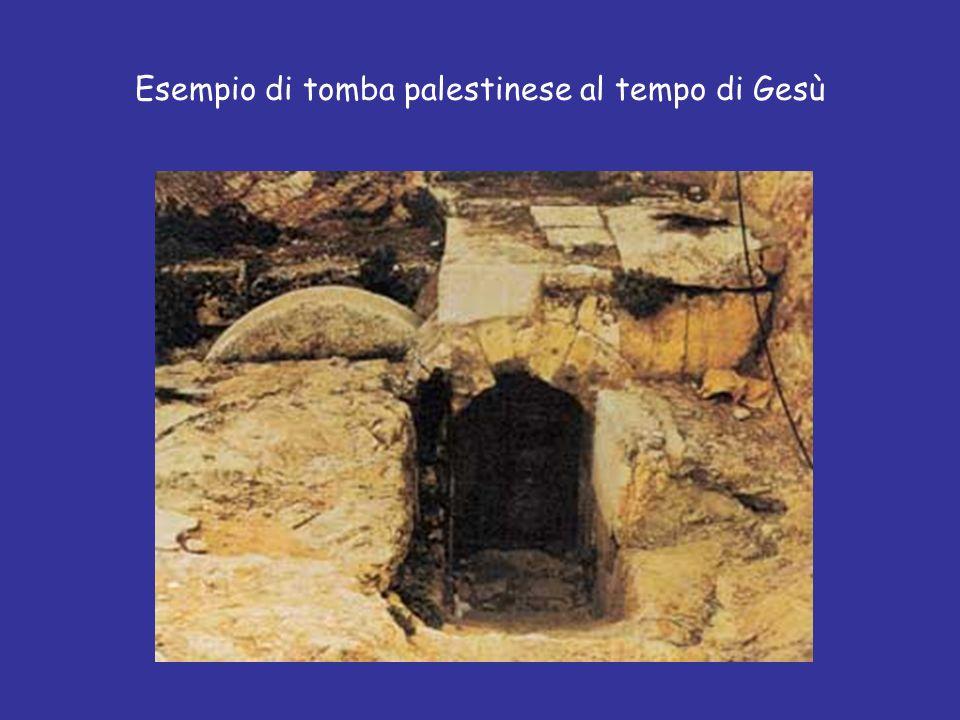Esempio di tomba palestinese al tempo di Gesù