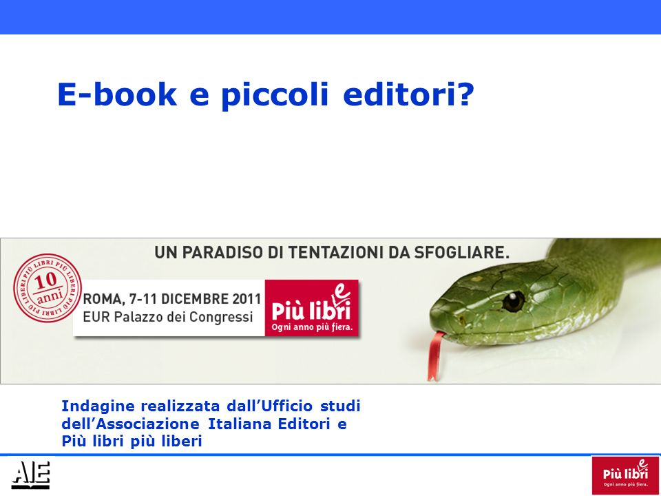 E-book e piccoli editori.