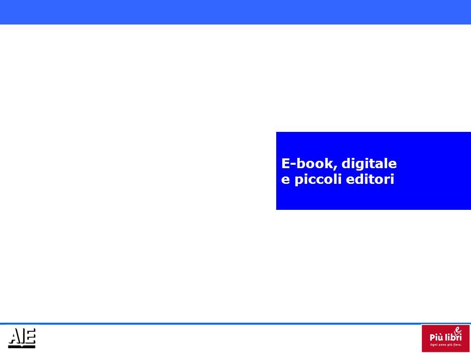 E-book, digitale e piccoli editori