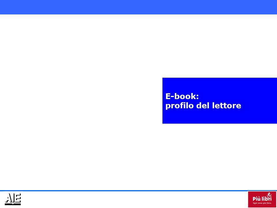 E-book: profilo del lettore