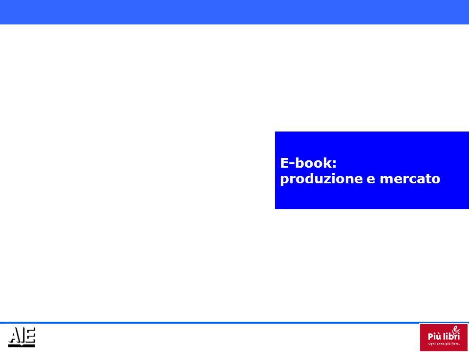 Il mercato e-book nel 2010 poteva venir stimato in 1,5 milioni di euro.