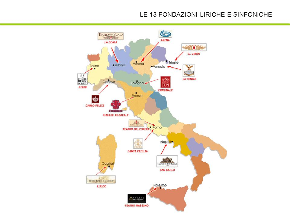 ANFOLS Associazione nazionale fondazioni liriche e sinfoniche LE 13 FONDAZIONI LIRICHE E SINFONICHE