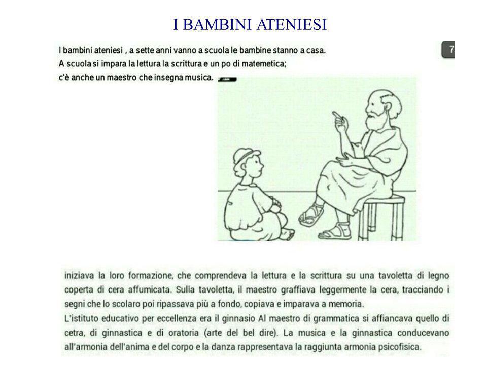 I BAMBINI ATENIESI