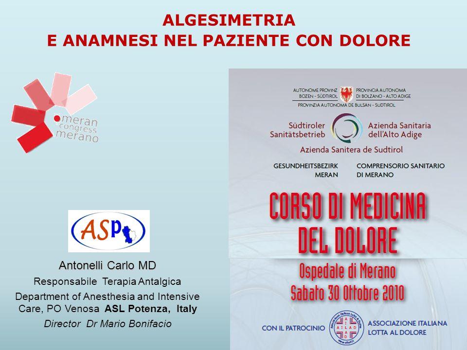 6 - Problemi non risolvibili Antonelli C.Algesimetria.