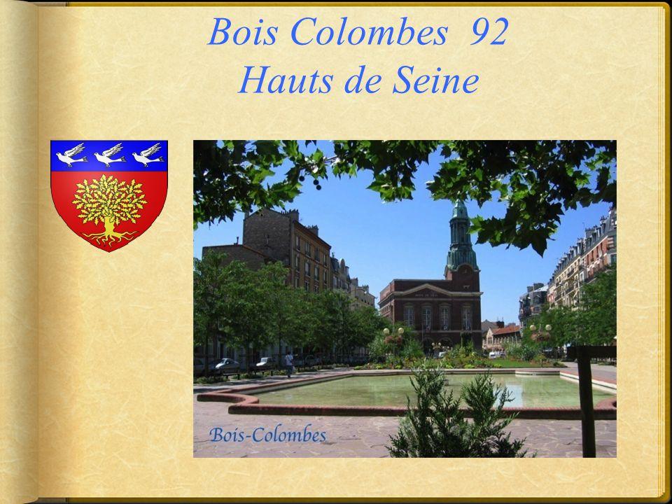 Bois Colombes 92 Hauts de Seine