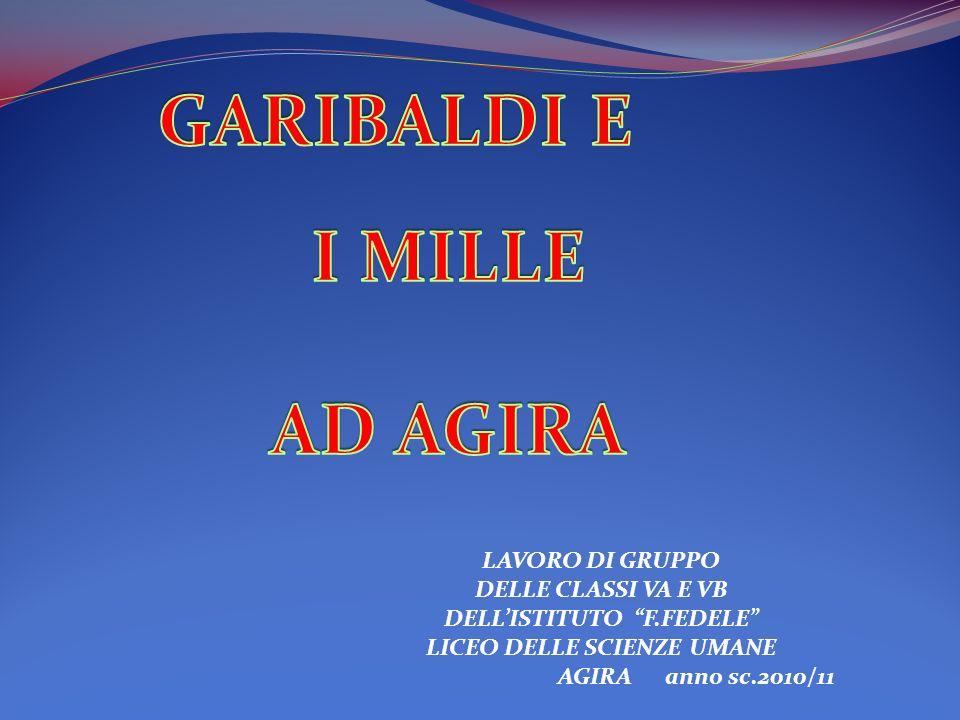 LAVORO DI GRUPPO DELLE CLASSI VA E VB DELLISTITUTO F.FEDELE LICEO DELLE SCIENZE UMANE AGIRA anno sc.2010/11