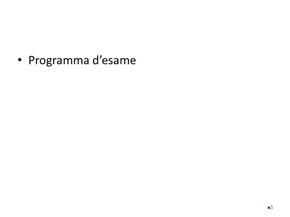 Programma desame 3