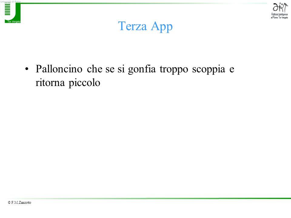 © F.M.Zanzotto Palloncino che se si gonfia troppo scoppia e ritorna piccolo Terza App