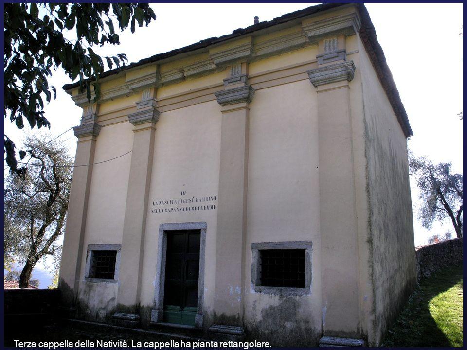 Terza cappella della Natività. La cappella ha pianta rettangolare.