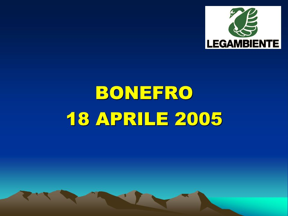 BONEFRO 18 APRILE 2005